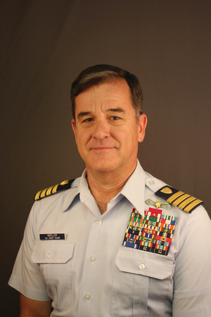 Capt. Robert Mueller, U.S. Coast Guard (ret)