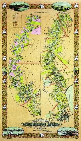 Map Of Louisiana Plantations.Pelican Product 0911116265 Plantations On The Mississippi