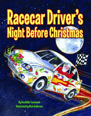 RACECAR DRIVER'S NIGHT BEFORE CHRISTMAS